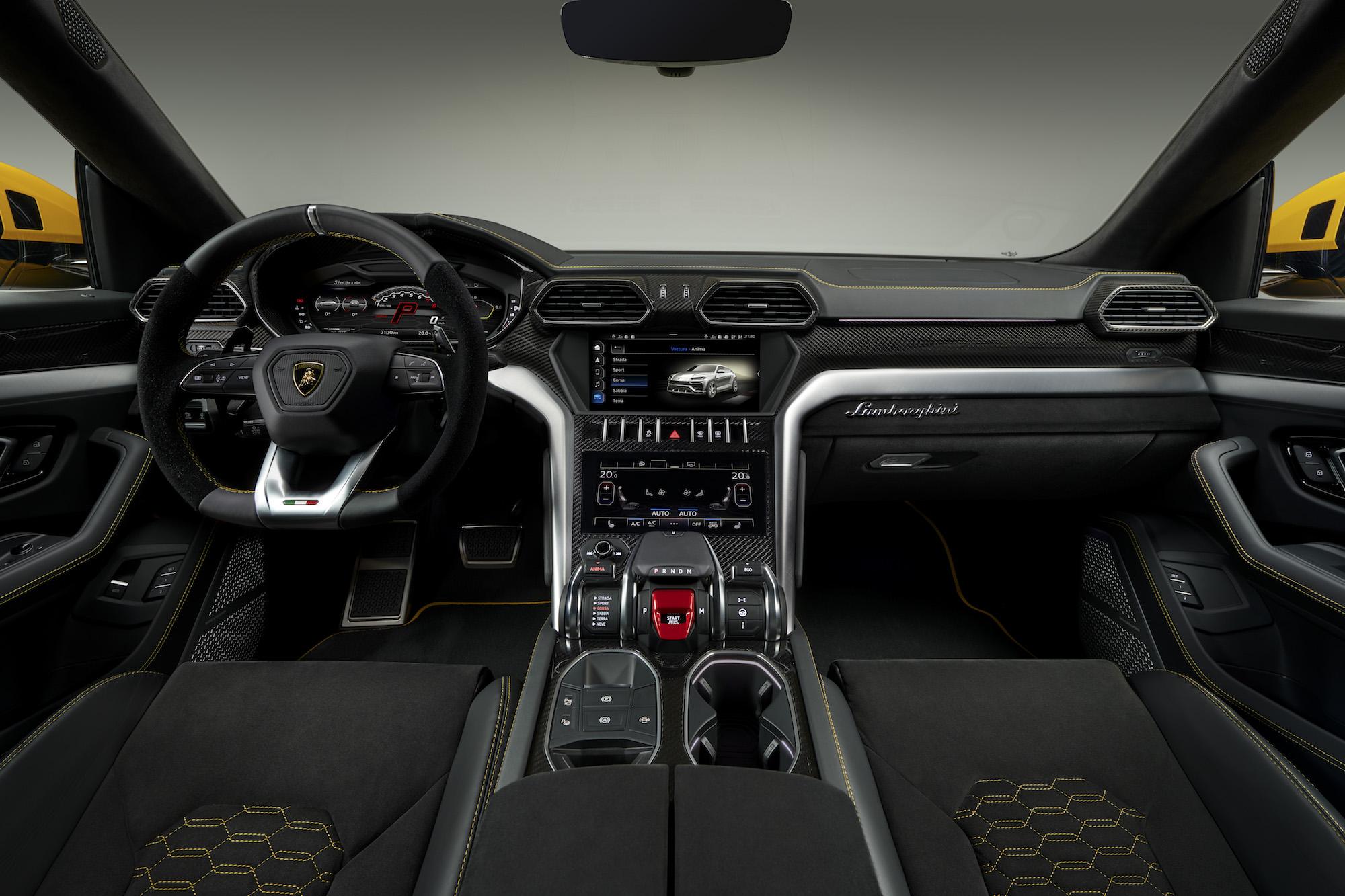 Lamborghini Urus_interior