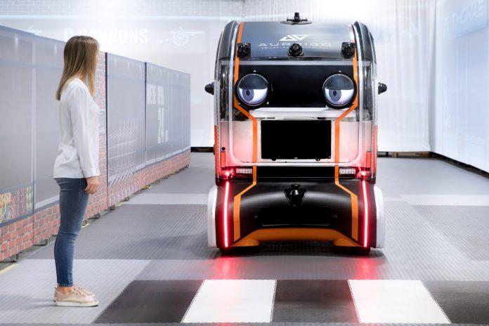 jaguar selfdriving car